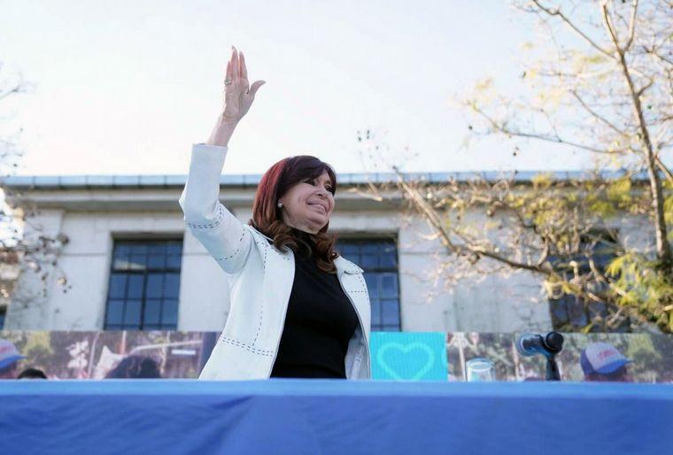 Reapareció Cristina Kirchner: «el peronismo sigue hoy más vigente que nunca»