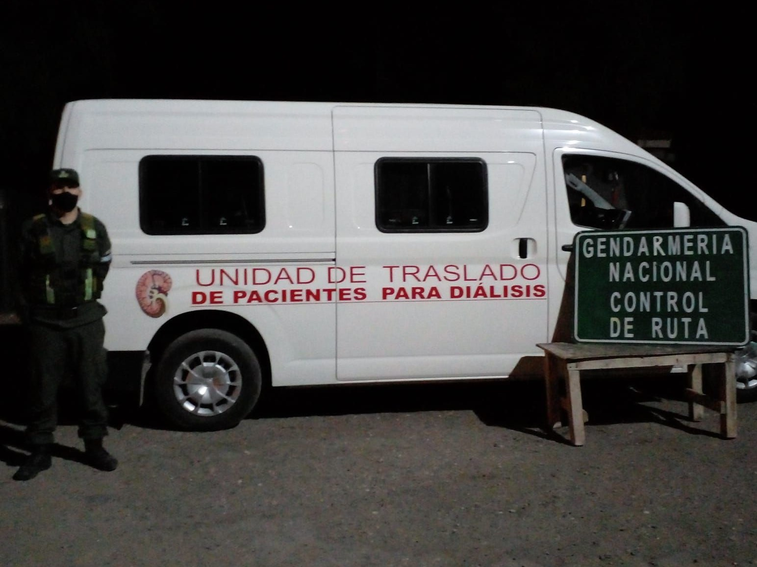 Narcos de La Rioja llevaban droga en un vehículo de trasladado de pacientes para diálisis